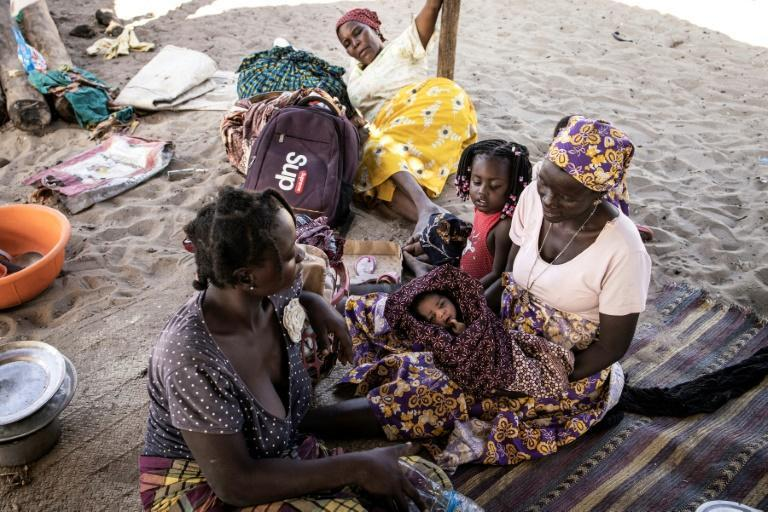 Thousands of people fleeing jihadist violence have taken shelter in the northern Mozambican town of Pemba
