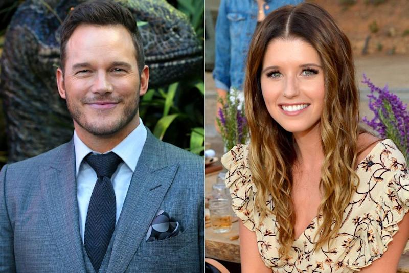 Chris Pratt; Katherine Schwarzenegger | David Livingston/Getty Images; Donato Sardella/Getty Images