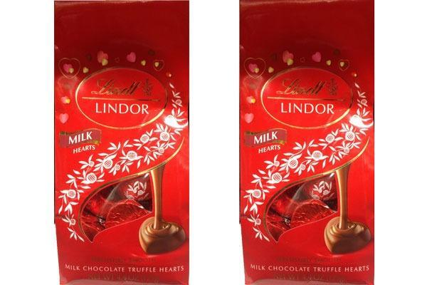 Valentines Candy Ranked Lindt Lindor Milk Chocolate Truffle Hearts