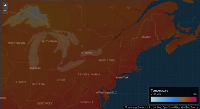 New York Ramps Up Toward Most Sweltering Heat of the Summer