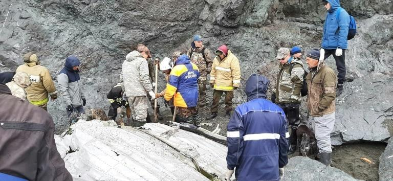 Search teams found the wreckage of the plane, which had 28 people on board, near the coastal town of Palana