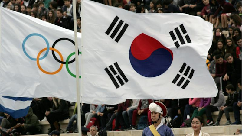 North and South Korea will march under one flag at Winter Olympics