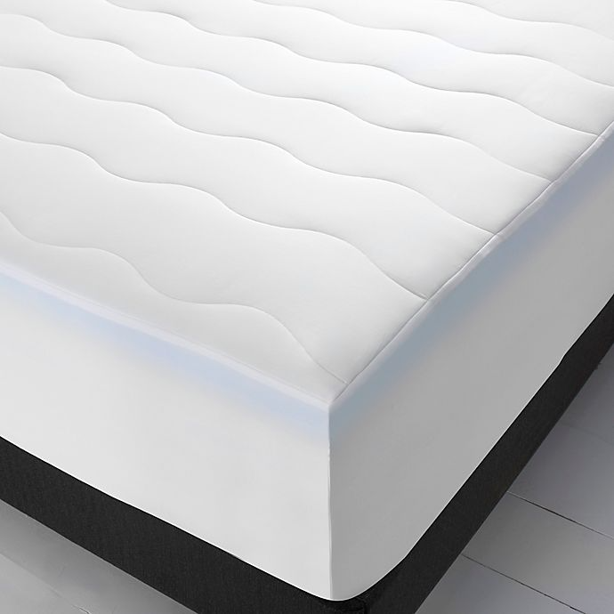 """<h3>Therapedic SleepRX Memory Foam Mattress Topper</h3><br><strong>Best For:</strong> <strong>A Cloud-Like Refreshing Sleep</strong><br>Therapedic's SleepRX mattress topper is made Suprelle Cool Night fibers and 2"""" gel memory foam to relieve pressure on the body and provide supportivel comfort. <br><br><strong>The Hype: 4.6 out of 5 stars</strong><br><br><strong>Sleepers Say:</strong> """"The Sleep RX topper is just what my bed needed. I have a newer mattress, but it is still a bit firm for me. This topper made it just the right softness. It's not too thick so your able to still roll over with ease. It didn't take long for it to expand. The cover that comes with it definitely helps to make it not feel hot so you sleep cool."""" <em>– Mela, Bed Bath & Beyond Reviewer</em><br><br><em>Shop </em><strong><em><a href=""""https://www.bedbathandbeyond.com/store/product/therapedic-sleeprx-memory-foam-mattress-topper/5560042"""" rel=""""nofollow noopener"""" target=""""_blank"""" data-ylk=""""slk:Therapedic"""" class=""""link rapid-noclick-resp"""">Therapedic</a></em></strong><br><br><strong>Therapedic</strong> SleepRX™ Memory Foam Mattress Topper, $, available at <a href=""""https://go.skimresources.com/?id=30283X879131&url=https%3A%2F%2Fwww.bedbathandbeyond.com%2Fstore%2Fproduct%2Ftherapedic-sleeprx-memory-foam-mattress-topper%2F5560042"""" rel=""""nofollow noopener"""" target=""""_blank"""" data-ylk=""""slk:Bed Bath and Beyond"""" class=""""link rapid-noclick-resp"""">Bed Bath and Beyond</a>"""