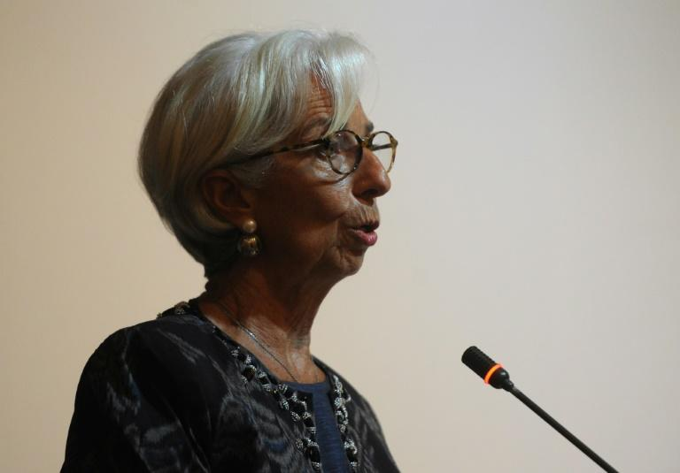 "International Monetary Fund chief Christine Lagarde says that ""when you are a member of a club...then you play by the rules of the club,"" in reference to Italy's proposed budgetary reforms"