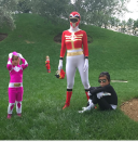<p>Even further proof that Halloween is taken very seriously in Kourtney Kardashian's household. Last year, the family posted a series of outfit changes on social media. <em>[Photo: Instagram]</em> </p>
