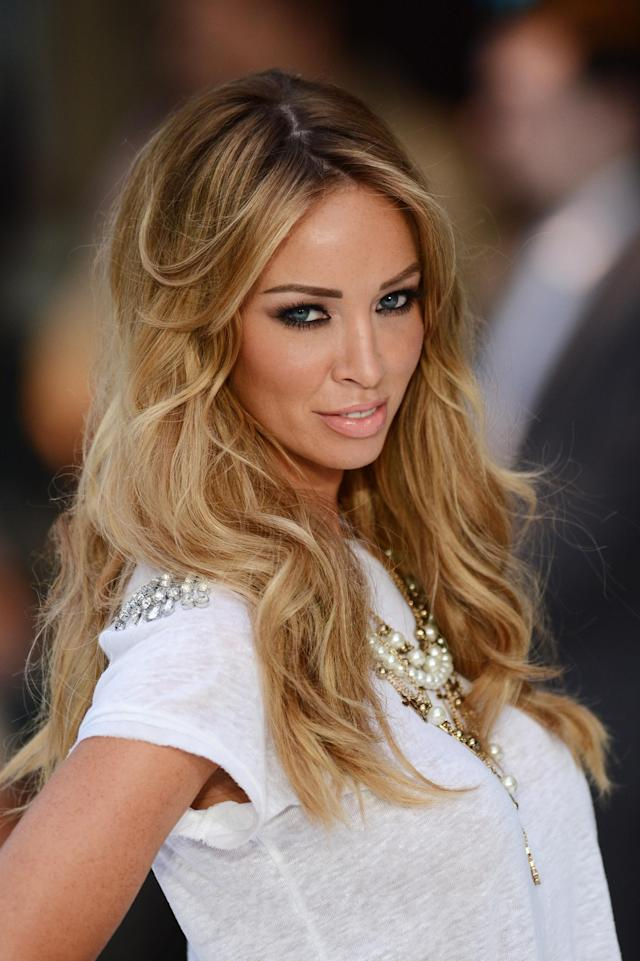 "LONDON, ENGLAND - AUGUST 16: Lauren Pope attends the ""Total Recall"" UK premiere at Vue West End on August 16, 2012 in London, England. (Photo by Ian Gavan/Getty Images)"