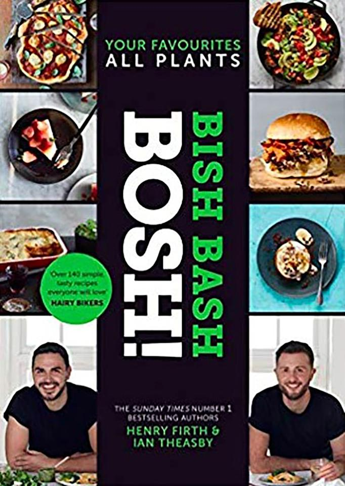 """<p><a rel=""""nofollow"""" href=""""https://www.amazon.co.uk/BISH-BASH-BOSH-Favourites-plant-based/dp/000832705X/ref=lp_7388662031_1_13?s=books&ie=UTF8&qid=1553513983&sr=1-13"""">BUY NOW </a></p><p>The follow up to their first cook book, <em>Bish Bash Bosh! </em>contains over 140 new plant-based recipes for your vegan eating needs. Whether you're after a quick weeknight supper or a fancy Sunday feast, BOSH! are on a mission to show the world just how versatile cooking with veg can be.<br></p>"""