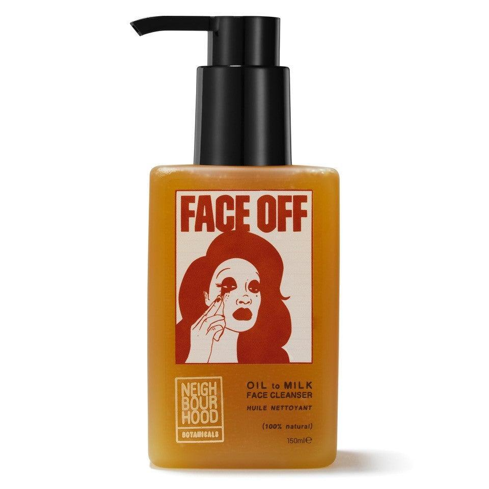 The Neighbourhood Botanicals Face Off Cleanser, packaged in entirely sustainable materialsNeighbourhood Botanicals