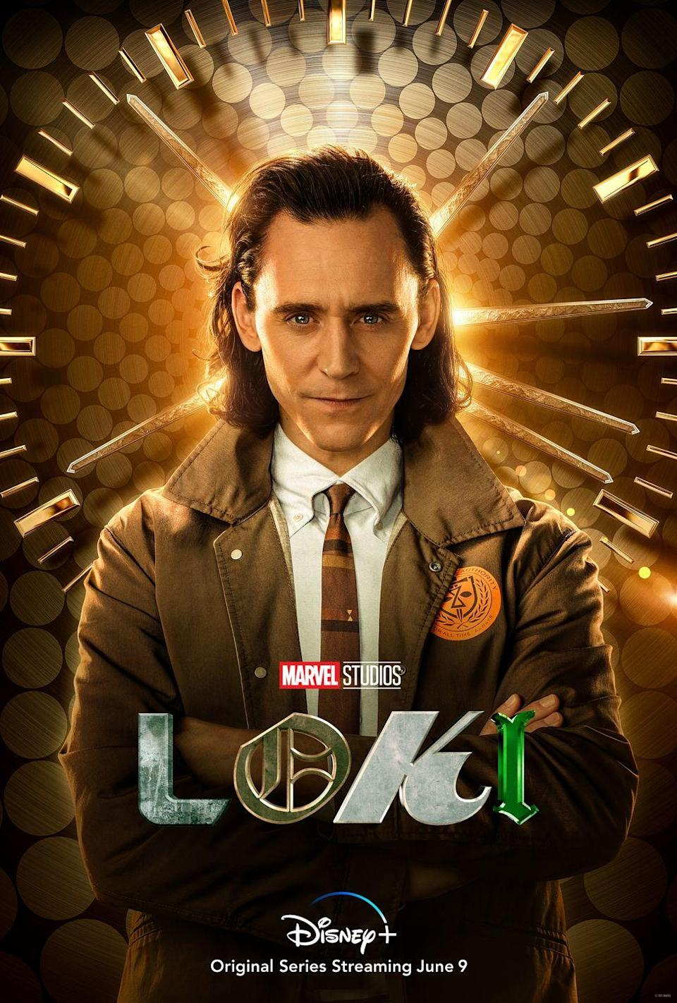 """<p><strong>Portrays:</strong> Loki</p><p><strong>Age:</strong> 40</p><p><strong>Instagram:</strong> <a href=""""https://www.instagram.com/twhiddleston/"""" rel=""""nofollow noopener"""" target=""""_blank"""" data-ylk=""""slk:@twhiddleston"""" class=""""link rapid-noclick-resp"""">@twhiddleston</a></p><p><strong>Fun fact: </strong>Um, Marvel fans...do I even have to give you background on this extremely handsome fella? If yes, then go watch all the MCU films right now. We won't get upset if you break away to do this. We command you. </p>"""