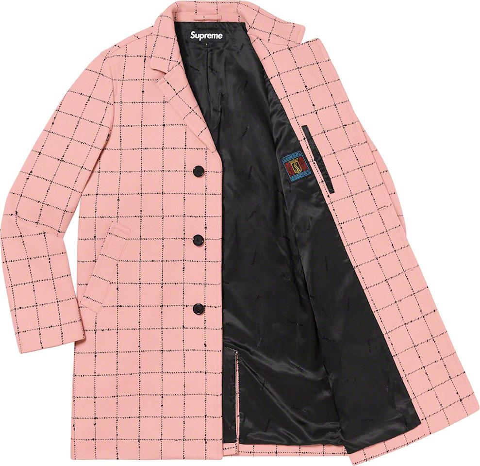 Your fall outerwear doesn't have to be boring. Wear this Pepto-pink overcoat for all your upcoming Can't Wait 'Till It Gets Cold So I Can Really Start Dressin' memes. —Cam Wolf