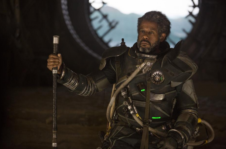 Forest Whitaker as Saw Gerrera in 'Rogue One' (Lucasfilm)
