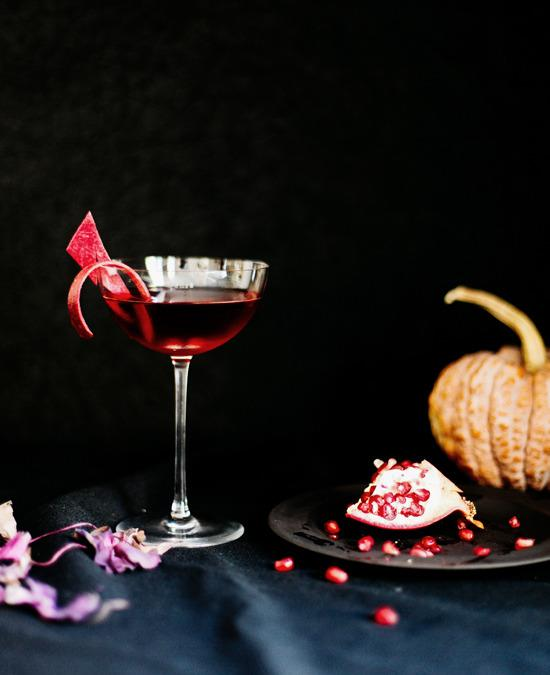 This pomegranate cocktail was inspired by Nosferatu, one of the ...