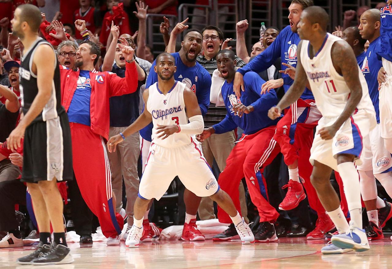 Why Chris Paul was so emotional after knocking off Spurs with