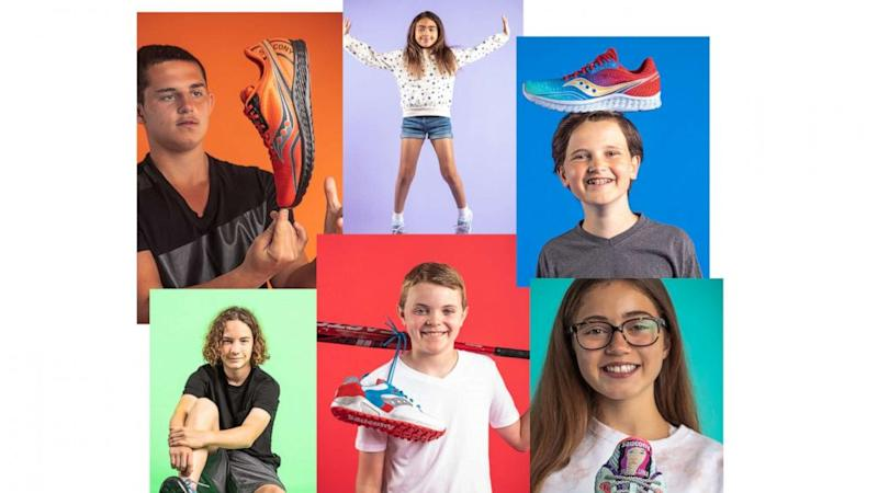 Kids design shoes to help other Boston Children's Hospital patients just like them