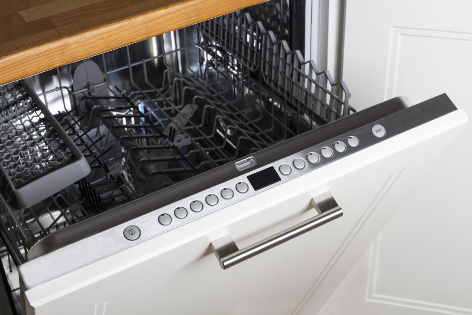 The Internet is divided about cooking vegetables in the dishwasher. (Getty Images)