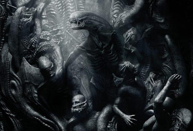 <i>Alien: Covenant</i> artwork. (Image: 20th Century Fox)