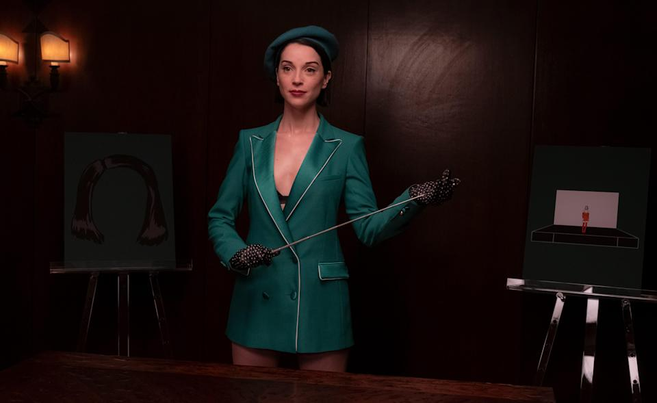 """St. Vincent in """"The Nowhere Inn"""" - Credit: Courtesy IFC Films"""