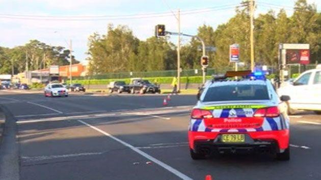 Police urge motorists to take alternative routes if you are heading west toward Gosford. Photo: 7 News