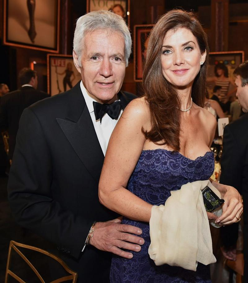 Alex and Jean Trebek | Kevin Winter/WireImage