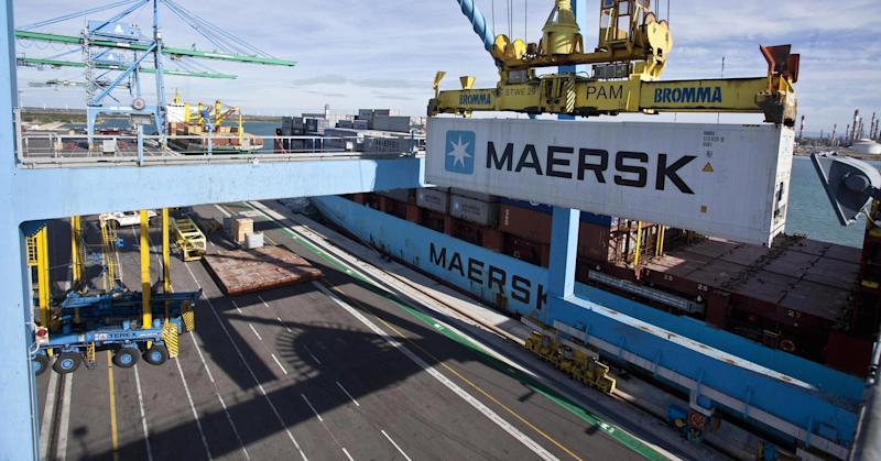 Blockchain technology is moving into the shipping industry — with Microsoft and Maersk on board