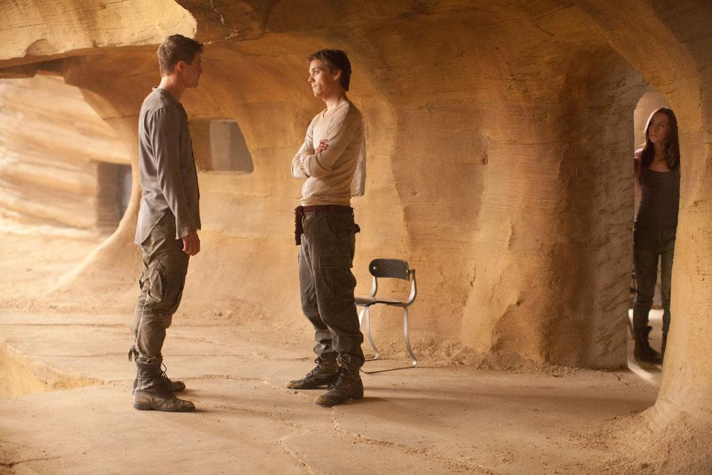 """Max Irons, Jake Abel and Saoirse Ronan in Open Road Films' """"The Host"""" - 2013"""