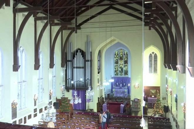 shimla church, christmas 2019, shimla christ church, shimla news christ church, shimla christ church history, shimla christmas celebration, shimla during christmas