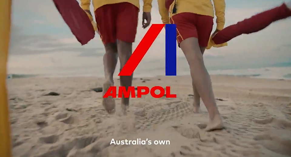 The video ends with the Ampol logo and the phrase
