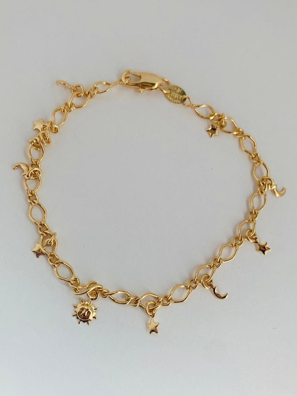 <p>You'll wear this <span>Charm Bracelet</span> ($17, originally $21) every day.</p>