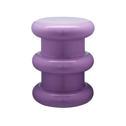 """If anyone understood the importance of whimsy in design, it was Ettore Sottsass. Also available in equally exciting shades of pink, red, and green, this stool, manufactured by Kartell, was designed in tribute to the legendary figure. $425, 2Modern. <a href=""""https://www.2modern.com/products/pilastro-stool-side-table?variant=298937319433"""" rel=""""nofollow noopener"""" target=""""_blank"""" data-ylk=""""slk:Get it now!"""" class=""""link rapid-noclick-resp"""">Get it now!</a>"""