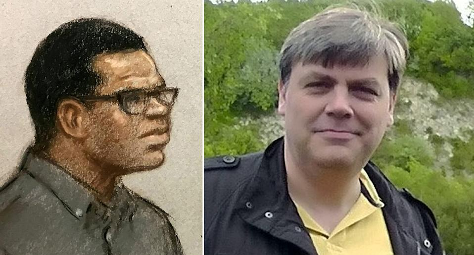 Lee Pomeroy, 51, was attacked by Darren Pencille.