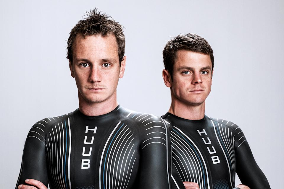 The brothers have recently invested in a crowdfunding initiative launched by triathlon market leaders HUUB