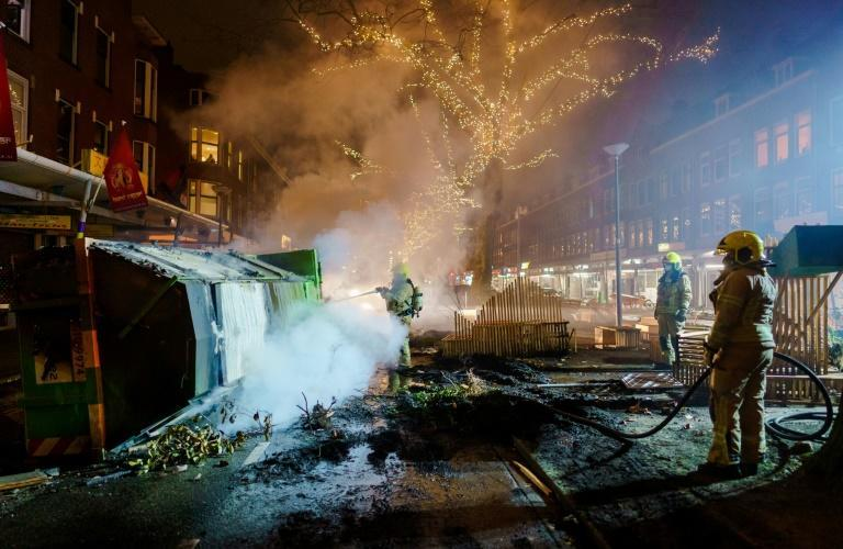 Dutch Prime Minister Mark Rutte has condemned the rioting as 'criminal'