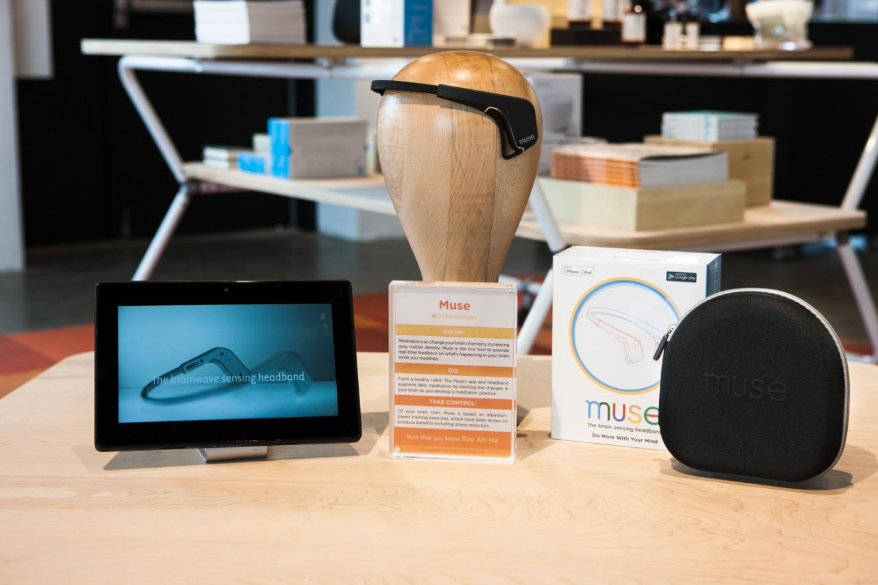 "<p>We know meditation is good for us, but we never <i>really </i>know what's going on in our brains — until Muse, that is. The tool provides motivational challenges to help keep the brain relaxed and breathing calm.</p><p>$299 at <a href=""http://store.choosemuse.com/products/muse?_ga=1.208692250.924057582.1455130923"">Muse</a></p>"