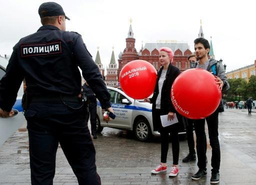 Dozens of Navalny supporters detained in Russia