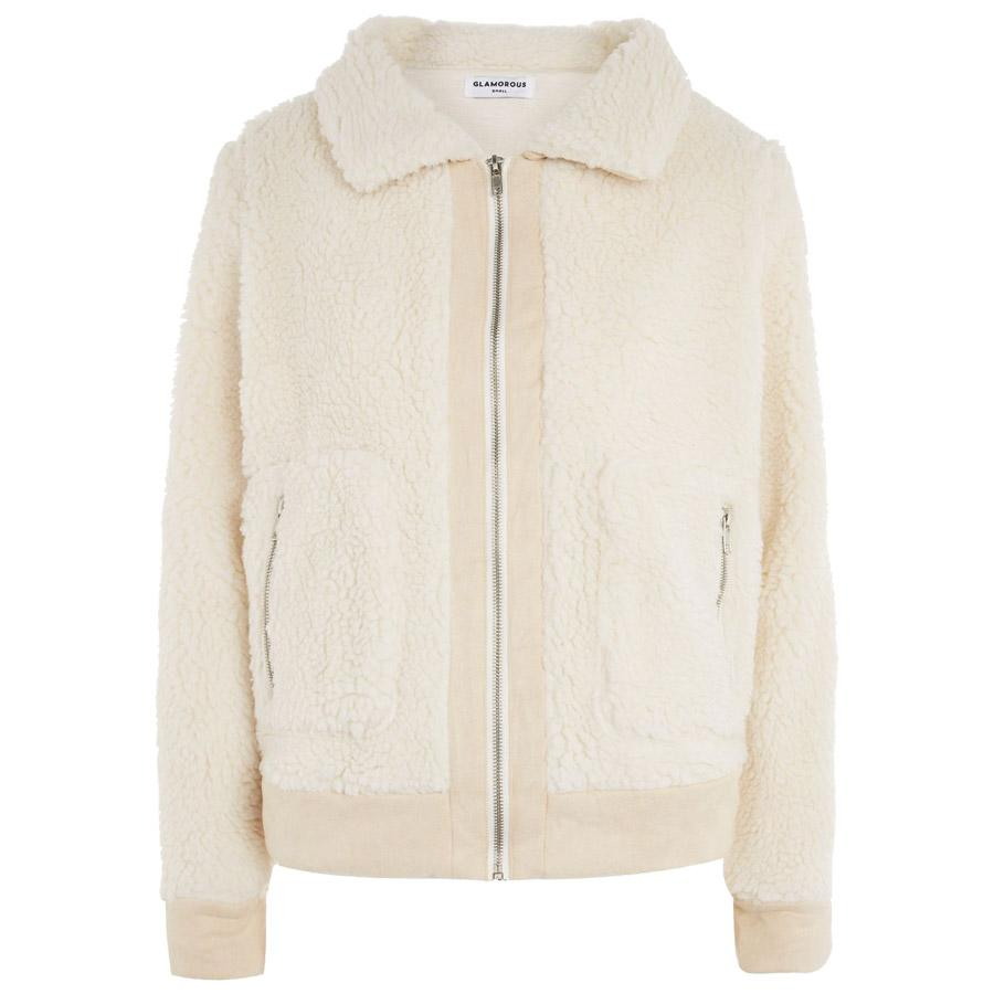 """<p>Shearling Style Bomber Jacket </p><p>Buy it <a rel=""""nofollow"""" href=""""https://click.linksynergy.com/fs-bin/click?id=93xLBvPhAeE&subid=0&offerid=435415.1&type=10&tmpid=8372&RD_PARM1=http%3A%2F%2Fus.topshop.com%2Fwebapp%2Fwcs%2Fstores%2Fservlet%2FProductDisplay%3FsearchTermScope=3%2526searchType=ALL%2526viewAllFlag=false%2526beginIndex=1%2526langId=-1%2526productId=29694508%2526pageSize=20%2526defaultGridLayout=3%2526CE3_ENDECA_PRODUCT_ROLLUP_ENABLED=N%2526searchTerm=TS62R09MCRM%2526productOnlyCount=1%2526catalogId=33060%2526productIdentifierproduct=product%2526geoip=search%2526x=25%2526searchTermOperator=LIKE%2526sort_field=Relevance%2526y=11%2526storeId=13052%2526qubitRefinements=siteId%253DTopShopUS&u1=IS%2CFAS%2CGAL%2C7ShearlingCoatsSoYouFeelNiceandToastyThisWinter%2Cjpizzuta1271%2C201711%2CT"""">here</a> for $114.</p>"""