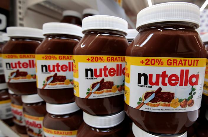 The French love Nutella, but apparently notas a baby name. (Photo: Eric Gaillard / Reuters)