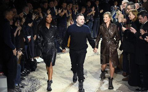 Kim Jones Louis Vuitton Naomi Campbell and Kate Moss - Credit: WireImage