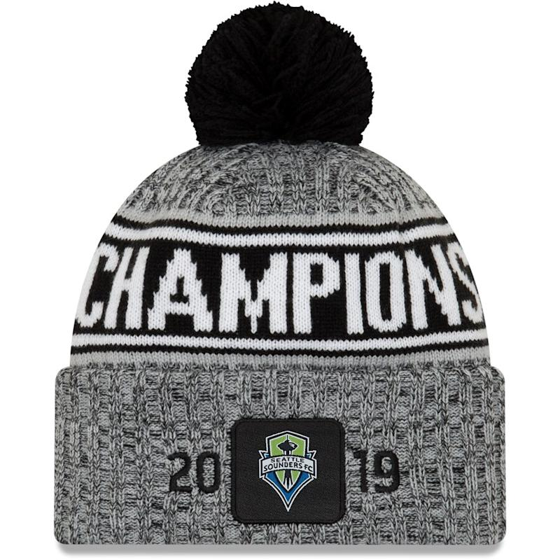 Sounders FC 2019 MLS Cup Champions Knit Hat