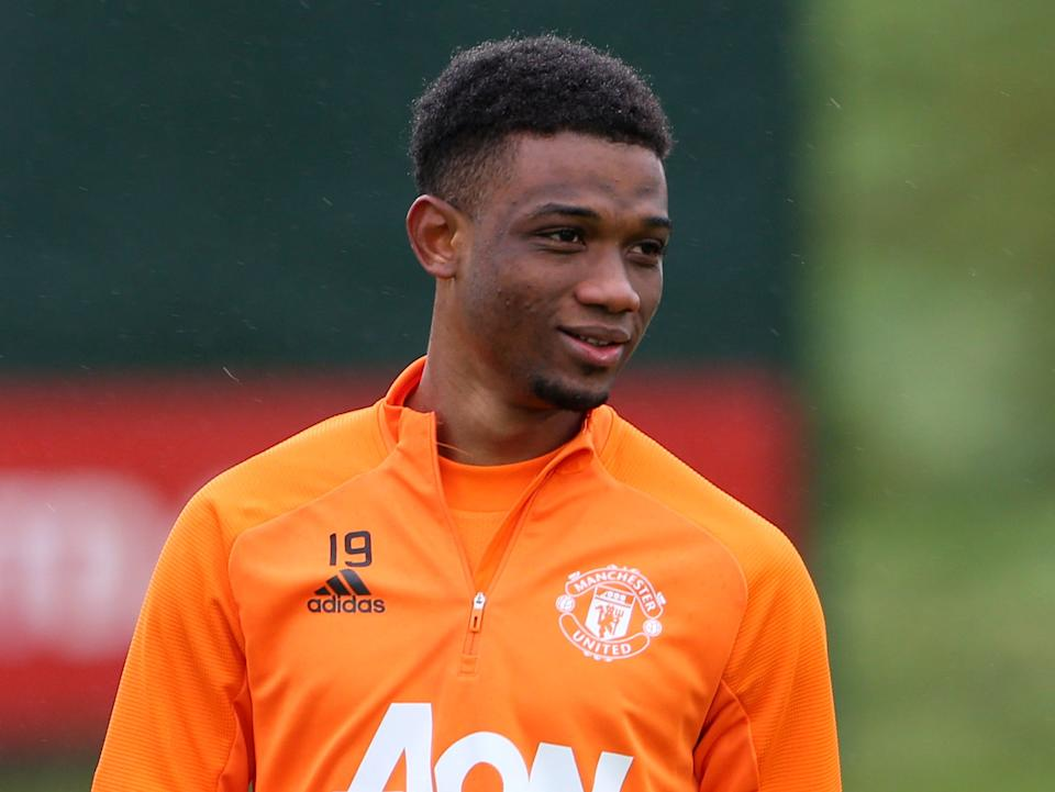 Manchester United new signing Amad Diallo (Manchester United via Getty Images)