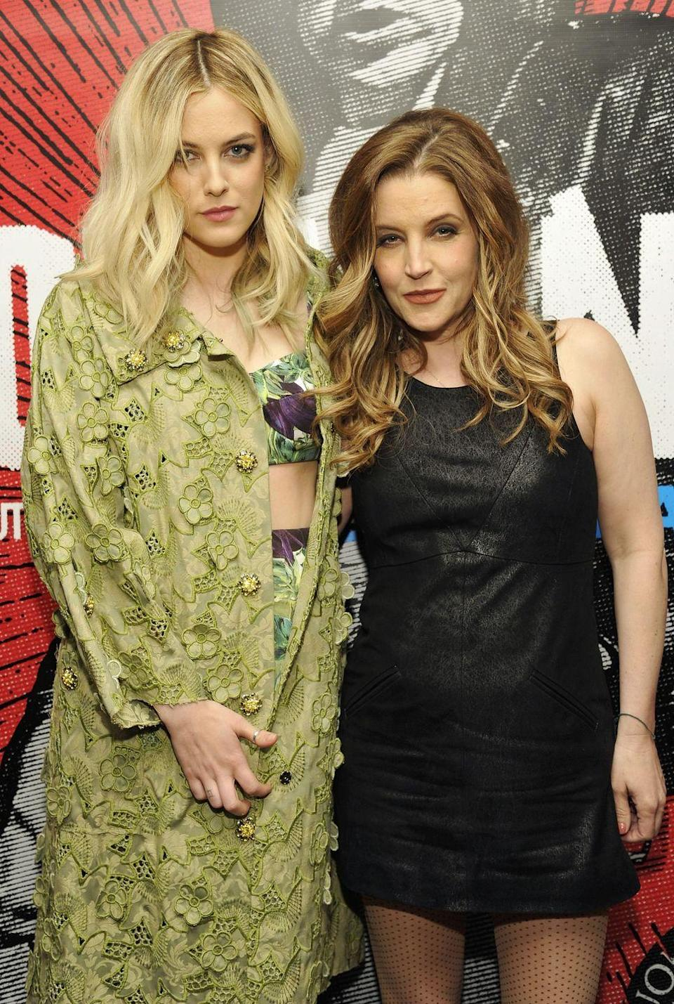 "<p><strong>Famous parent(s)</strong>: singer Lisa Marie Presley <br><strong>What it was like</strong>: ""People always ask, 'How crazy is it that your grandpa was Elvis and your stepdad was Michael Jackson?' I make them happy and say, 'Yeah, it's soooo crazy!'"" she's <a href=""http://us.hellomagazine.com/celebrities/12016021911850/riley-keough-on-being-related-to-Elvis-Presley-Michael-Jackson/"" rel=""nofollow noopener"" target=""_blank"" data-ylk=""slk:said"" class=""link rapid-noclick-resp"">said</a>. ""The reality is I know as much about my grandpa as you'd know about a grandpa you never met. I remember this Disney watch that Michael gave me. I think I sold that for five (dollars).""</p>"