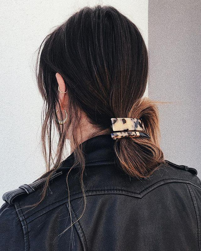 "<p>How perfect is this low-key chignon hairstyle for fall? It's basically the equivalent of that low bun you rely on most mornings, but the addition of a <a href=""https://www.amazon.com/Prettyou-Handmade-Celluloid-Tortoise-Accessories/dp/B07CNDSRJL/"" target=""_blank"">pretty hair clip</a> and a looped base takes things to the next level. </p><p><a href=""https://www.instagram.com/p/ByHCkwgHPzG/"">See the original post on Instagram</a></p>"