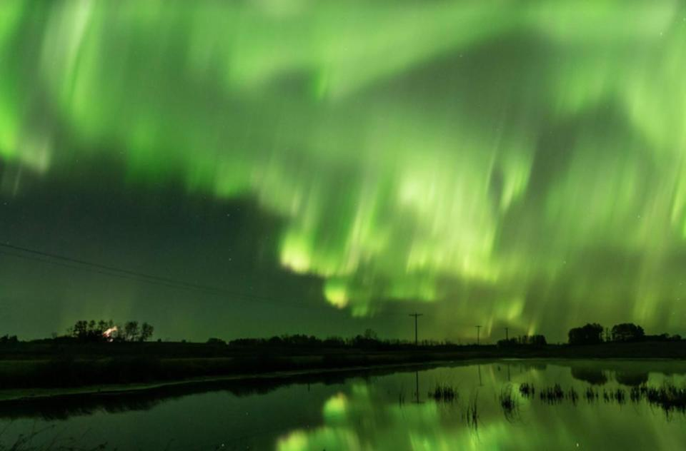 Solar flare triggers geomagnetic storm, leading to auroras in Canada and the US