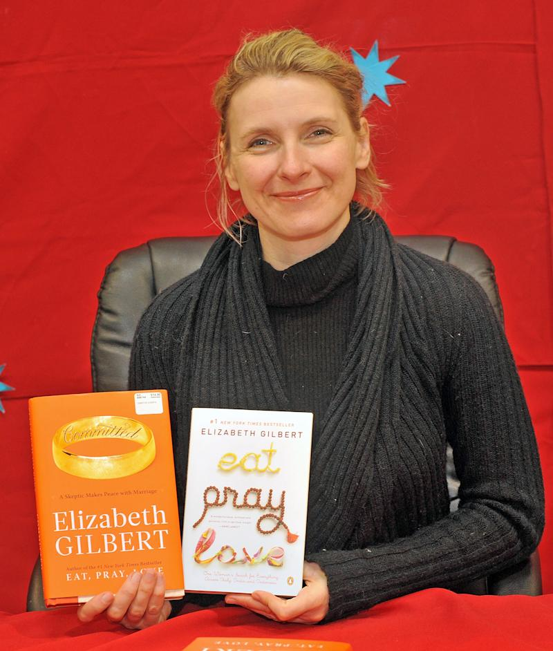 "Elizabeth Gilbert author of ""Eat, Pray, Love"""
