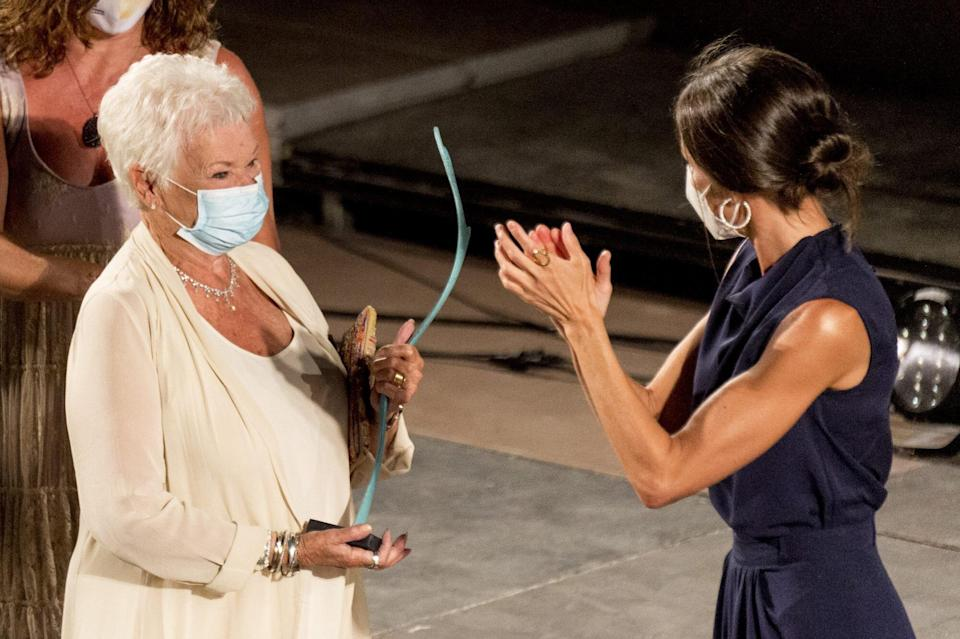 Judi Dench and Queen