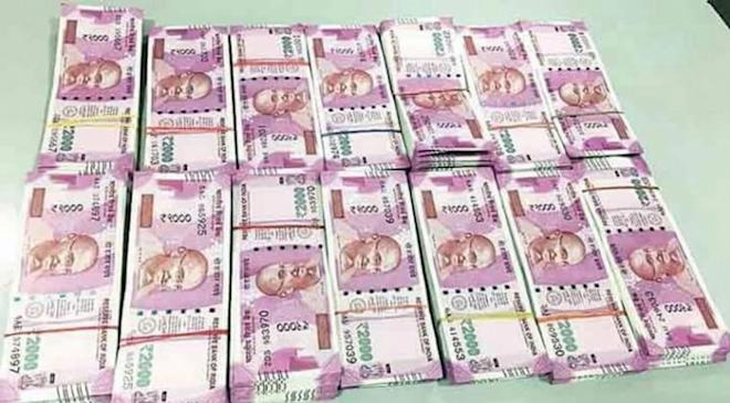 Rs 2000, raids, currency, cash seized