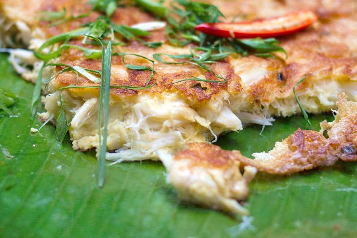 Egg-citing Thailand begins with Michelin-starred crab omelettes ('khai jiao pu'). — Pictures by CK Lim