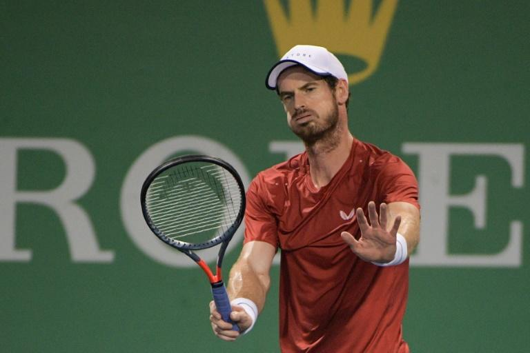 Andy Murray was also annoyed he repeatedly served for the match against Fabio Fognini but failed to win