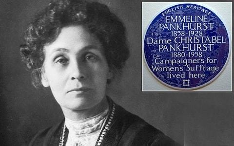 Emmeline Pankhurst, British feminist and leader of the suffrage movement, died in 1928. - Credit: Edward Gooch/Getty Images