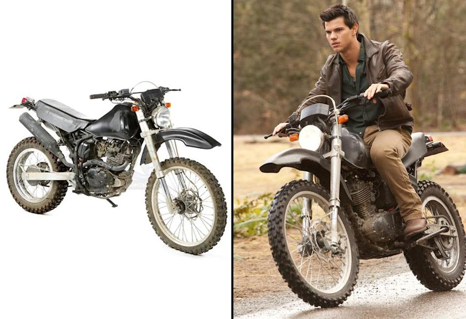 <p>Taylor Lautner's ride from 'Breaking Dawn – Part 1.' (Photo: Prop Store/Summit) </p>