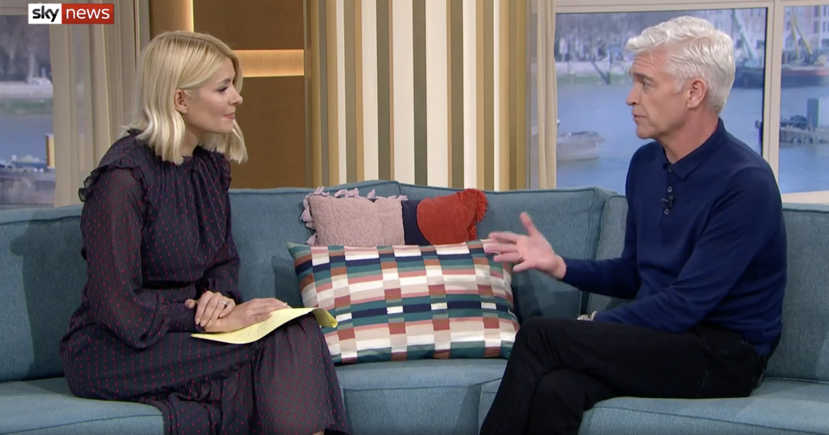 Phillip Schofield's emotional appearance on This Morning with co-host and friend Holly Willoughby (ITV)